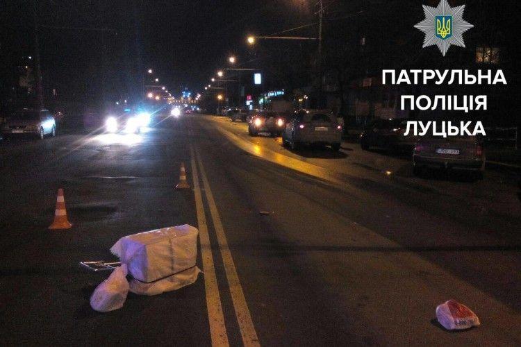 У Луцьку постраждали двоє пішоходів