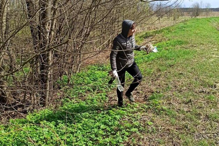 Юні лісівники Любешівського ліцею зробили природі добре (Фото)