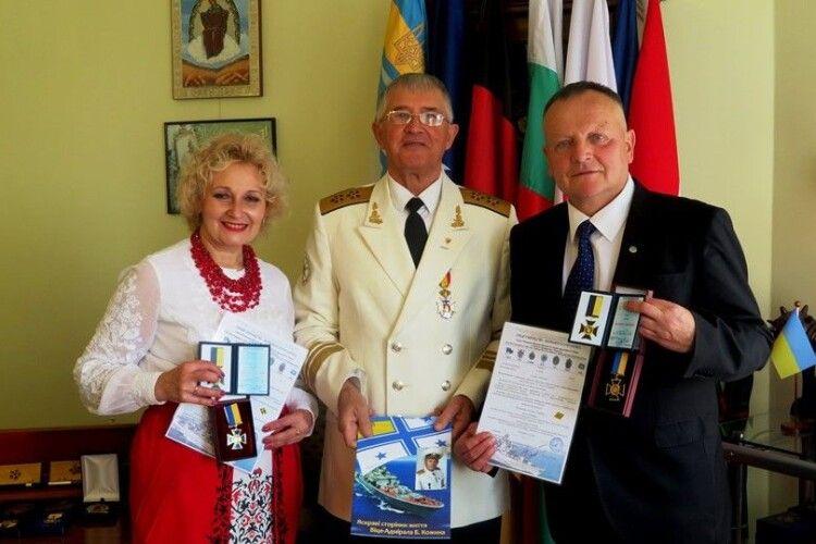 Відзнаки «Патріот України» отримали учасники дуету «Душа Волині»
