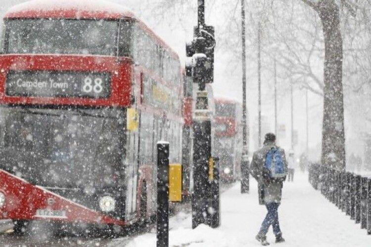 У Великій Британії холоднеча, якої не було ще з часів прем'єрства Черчилля