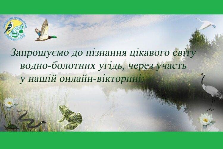 Волинян запрошують на «болотний» конкурс