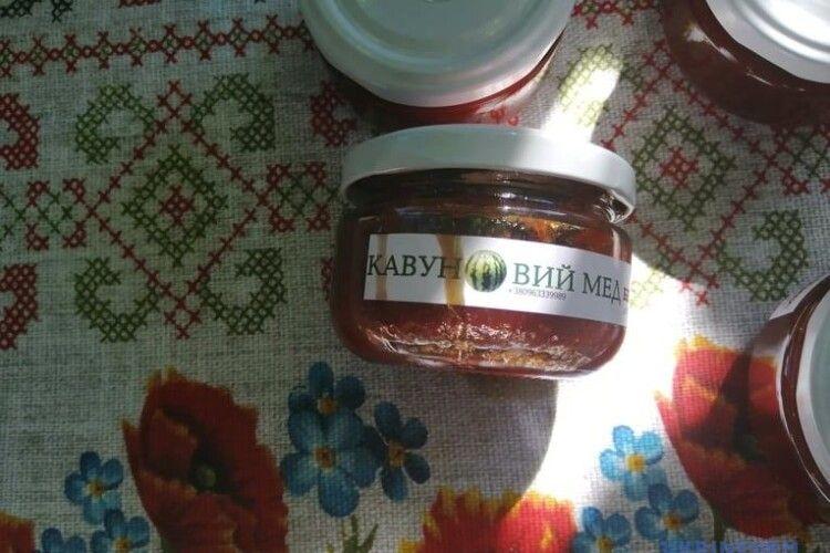 У нас вироблятимуть кавуновий мед