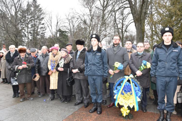 У Луцьку вшанували пам'ять визволителів міста під час Другої світової війни