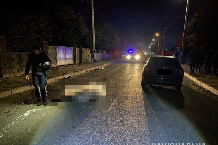 Поблизу обласного центру в ДТП загинув пішохід