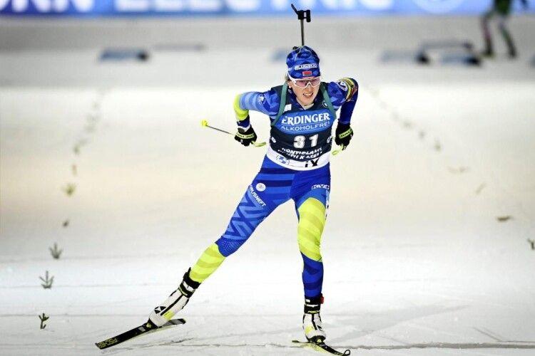 Білоруска Дінара Алімбекова сенсаційно виграла спринтерську гонку в Гохфільцені