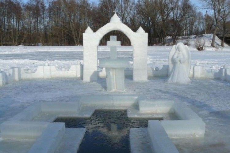 У Жидичинському монастирі готуються до Водохресних купань (Відео)