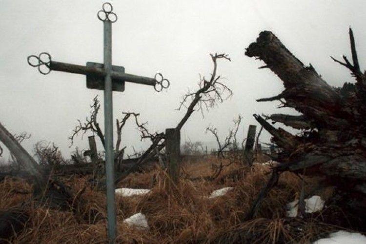 За глум над могилами на Рівненщині доведеться відповідати
