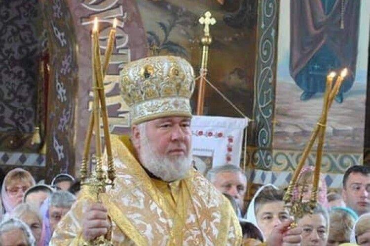 Помер митрополит Рівненський і Острозький Варфоломій