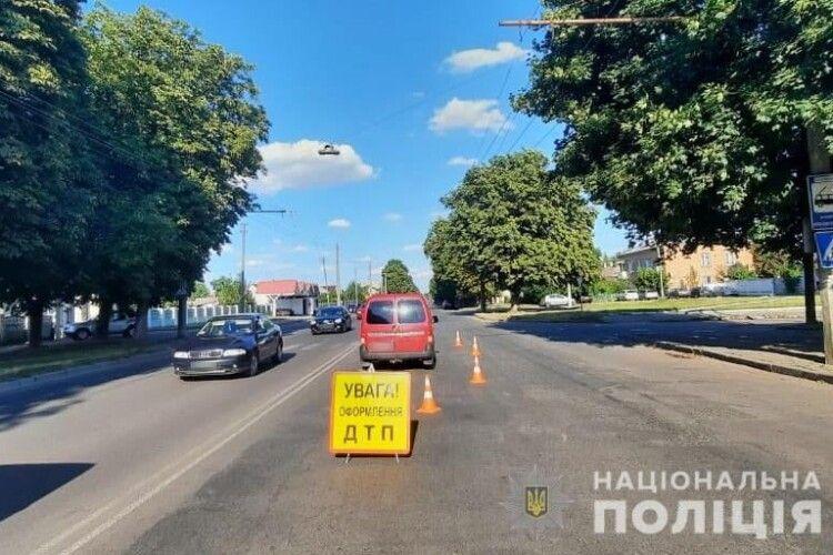 У Луцьку під колеса автомобіля потрапила 13-річна дівчинка (Фото)