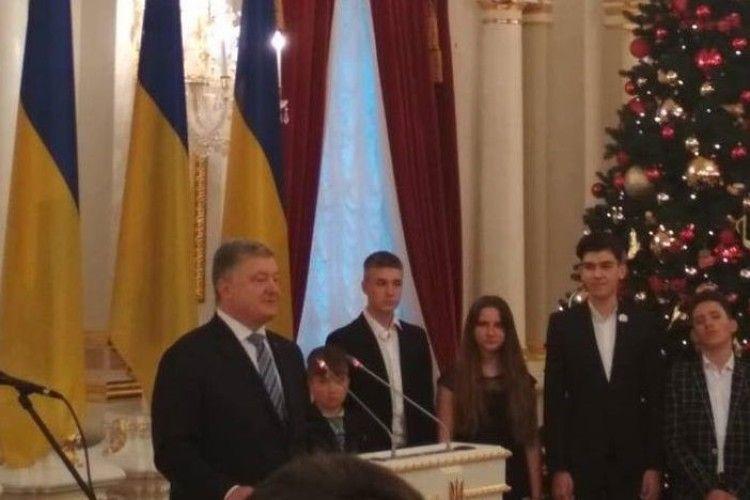 Шестеро юних волинян відзначать День Святого Миколая з Президентом