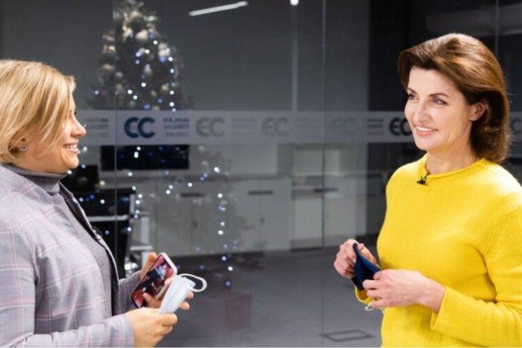 Марина Порошенко закликала владу повернути належне фінансування культурних проєктів