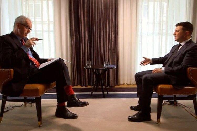 «Холодний душ» для Зеленського - на BBC розкритикували президента