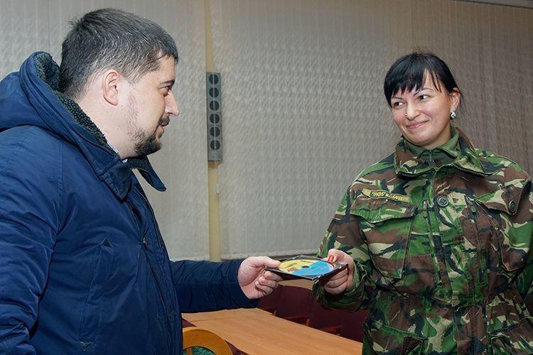 До Дня Гідності та Свободи в Горохові презентували фільм «Я вірю, що закінчиться війна...» (Фото, відео)