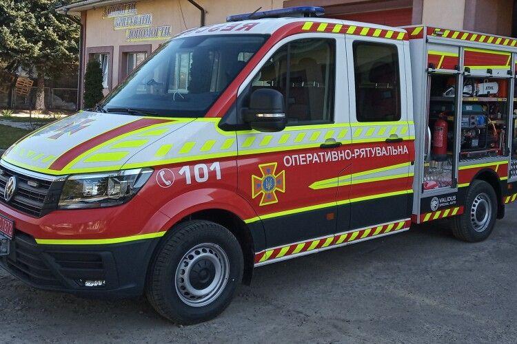 Луцьк отримав спеціальний автомобіль для порятунку з ДТП (фото)