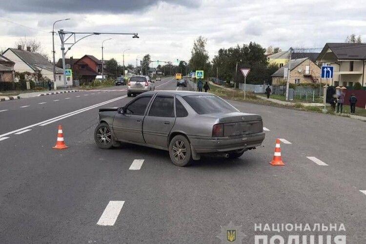 У Княгининку не розминулися дві автівки