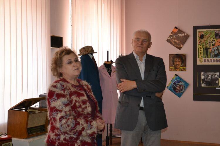Мар'яна Миць та Василь Ворон поділилися спогадами про музичний світ Луцька 1960-1980-х рр.