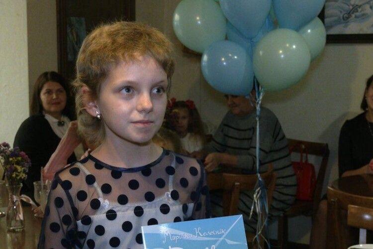 У Рівному презентували книжку дитини, яка бореться з онкозахворюванням