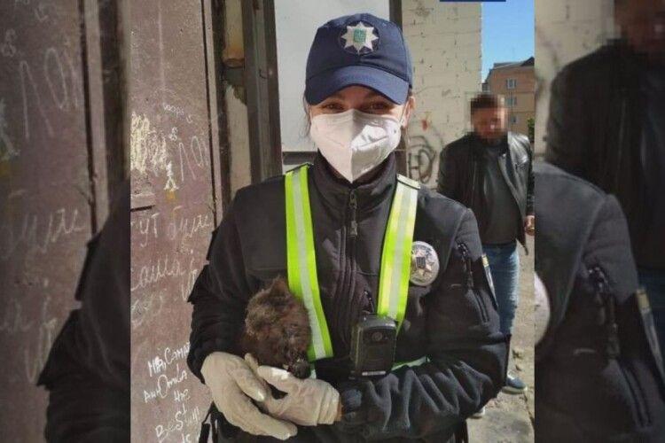 Рівненські патрульні провели спецоперацію «Порятунок Тасі»