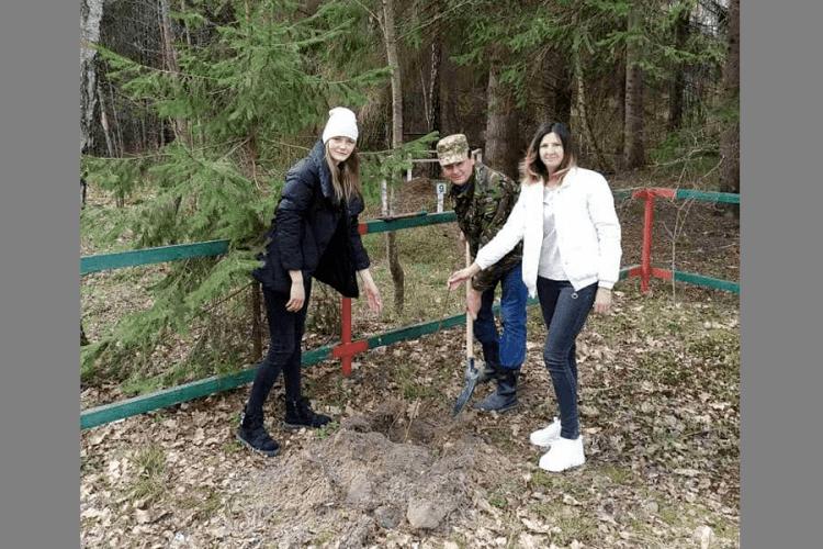 Там, де Леся Українка надихнулася на «Лісову пісню», посадили фруктові дерева (Фото)