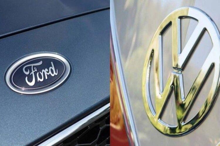 Концерни Volkswagen та Ford спільно вироблятимуть електромобілі