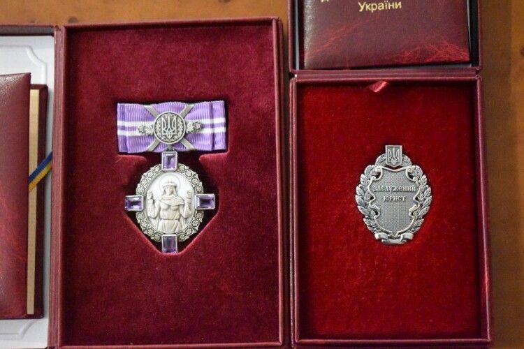Двом волинянам вручили президентські нагороди  (Фото)