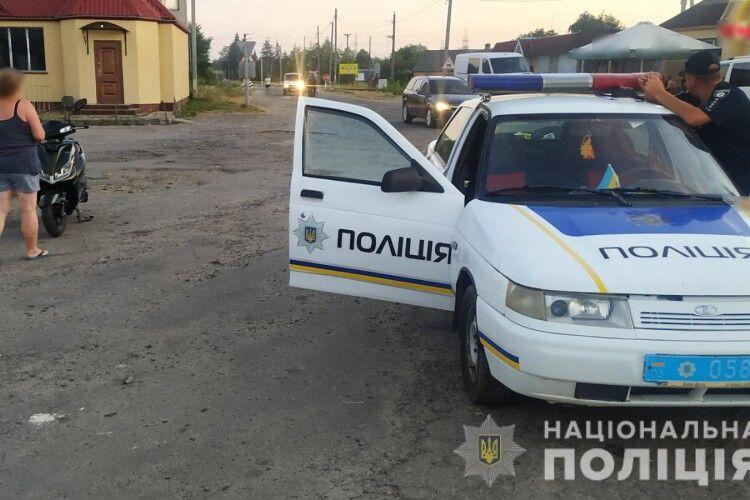 П'яний волинянин на «Пежо» дав патрульним 200 доларів хабаря