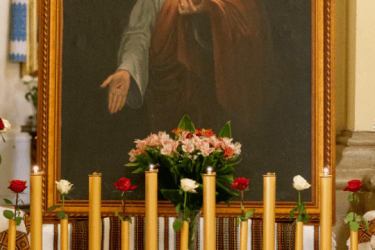 Помолитися перед іконою, написаною матір'ю Андрея Шептицького