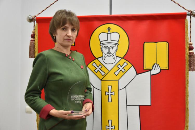 Місто Луцьк отримало престижну нагороду «Кришталь року» за перемогу у номінації «Найпрозоріші комунальні підприємства»