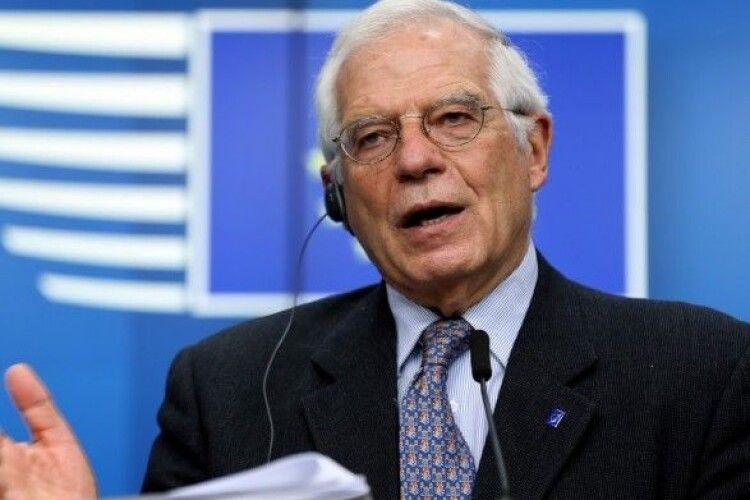 Боррель – Зеленському: «ЄС не є благодійною організацією чи банкоматом»