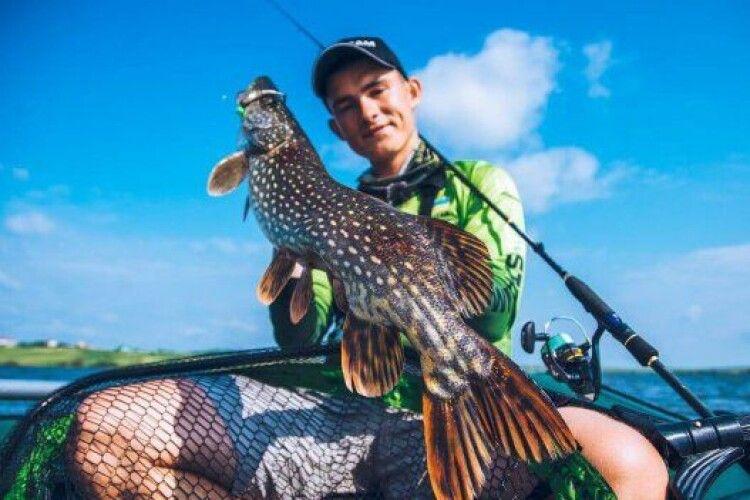 Хлопець зі Львова став найкращим рибалкою у світі