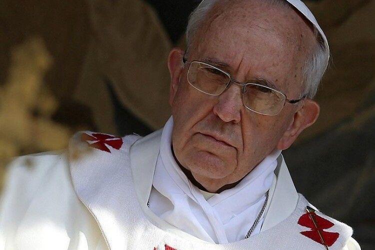 Папа Римський відреагував на загострення на Донбасі