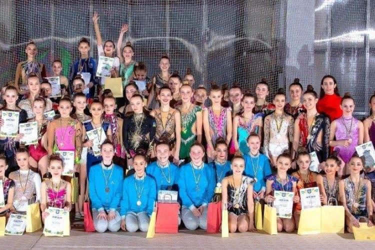 У Луцьку пройшов чемпіонат області з художньої гімнастики