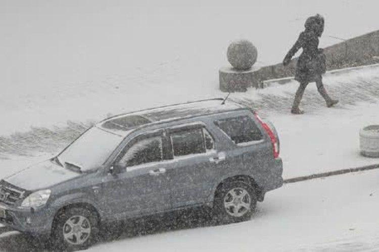 Київ готується до чергового снігопаду