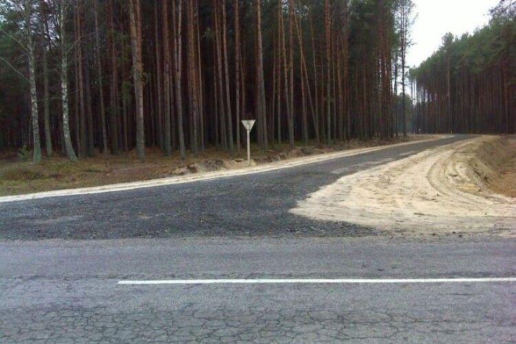 За 10 років волинські лісівники збудували 600 кілометрів доріг