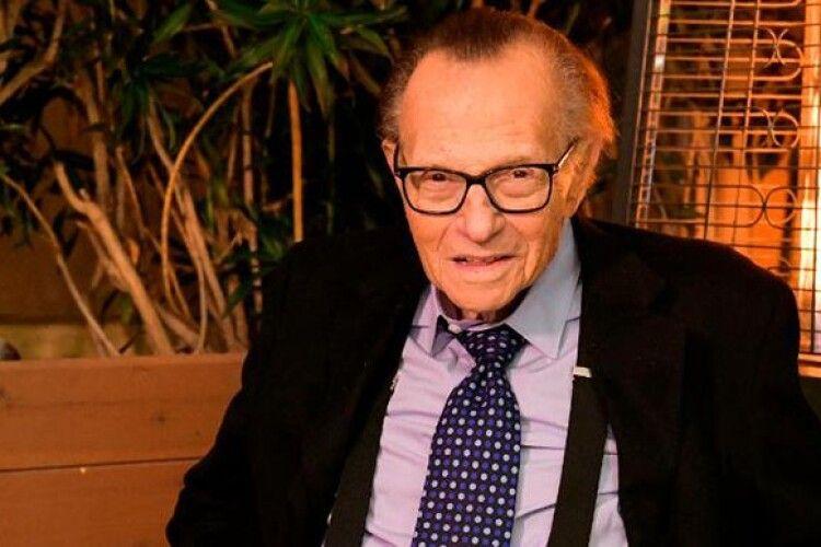 Помер легендарний телеведучий Ларрі Кінг, який кепкував з Ющенка