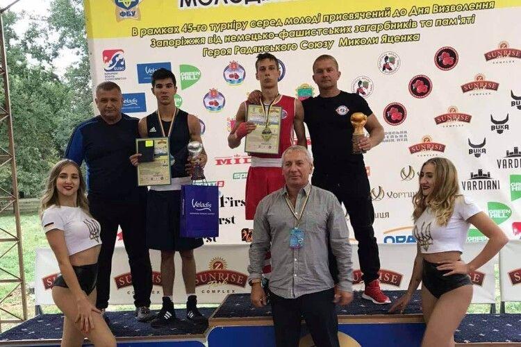Лучанин-боксер виборов срібло на всеукраїнському турнірі