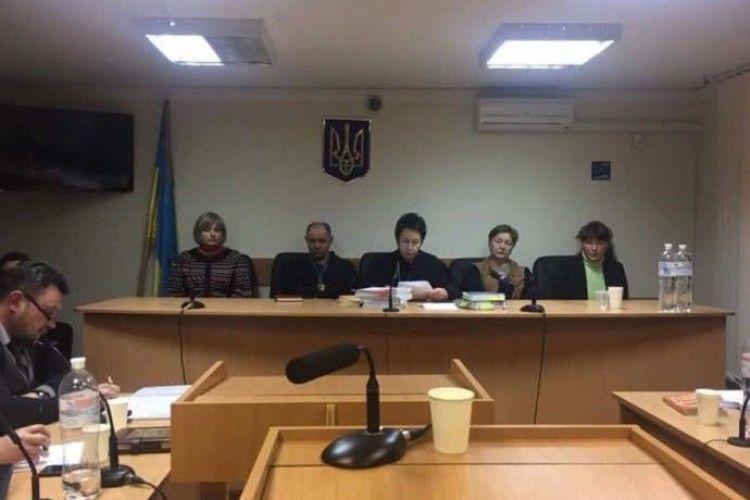Головуюча суддя у справі патрульного Олійника взяла самовідвід