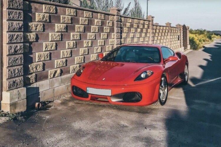 Стало відомо, хто придбав Ferrari F430 у Рівному (Відео)
