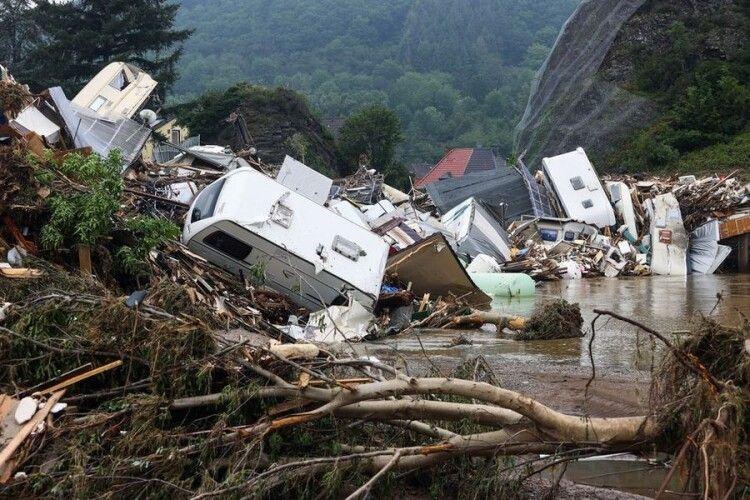 Повінь в Німеччині і Бельгії: число загиблих збільшилося до 170