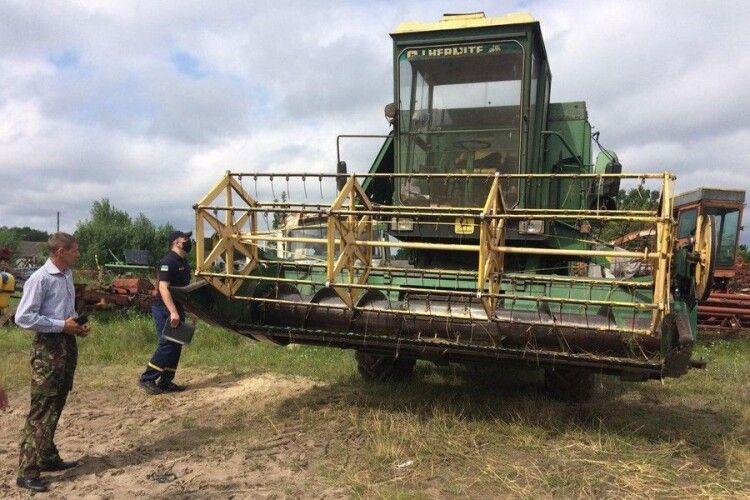 На Ратнівщині та Ковельщині пожежники трусили сільгосппідприємства