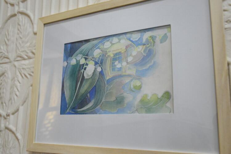 У Луцьку відкрили виставку акварельних робіт «Як дитиною бувало»