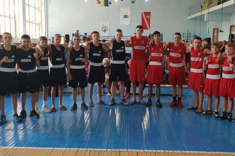 Юні волинські боксери завоювали на чемпіонаті 7 медалей (Фото)