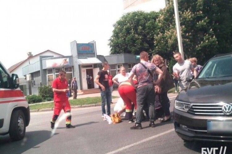 На Волині авто збило дитину (Фото)