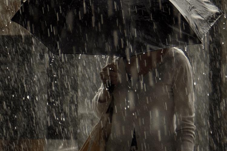 «Ллє як з відра!»: горохівчани зафіксували на відео сильну зливу