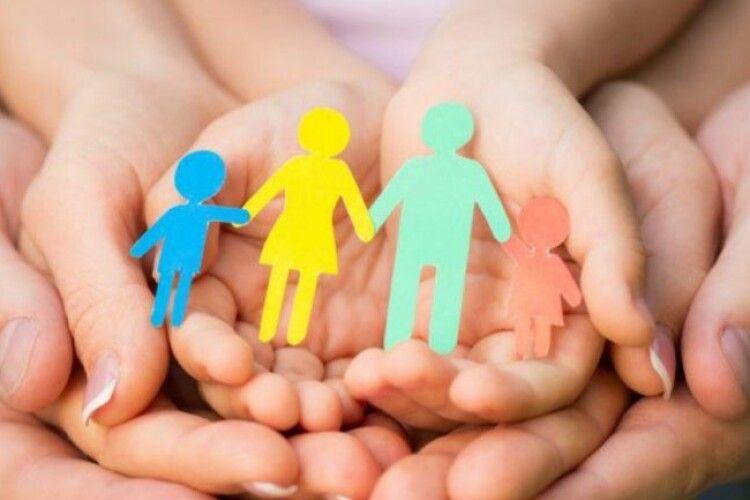 Лише 5% волинських сімей мають троє і більше дітей до 18 років