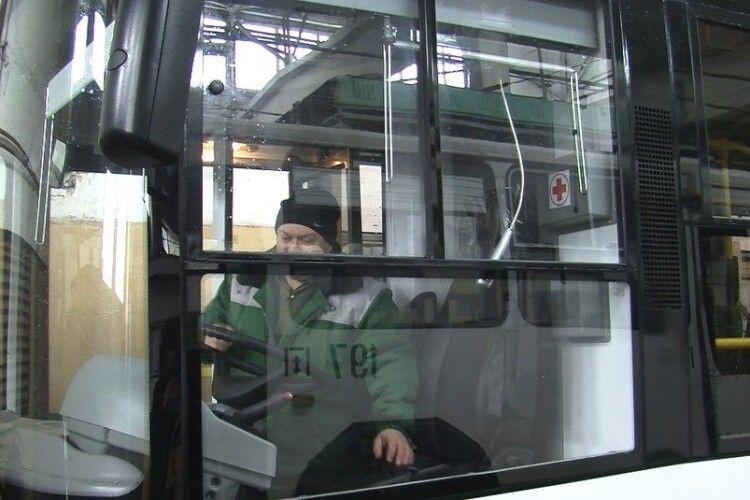У Луцьку на маршрути виїхали чотири нові тролейбуси