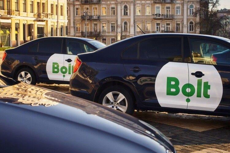 Робота в таксі Bolt в Одесі