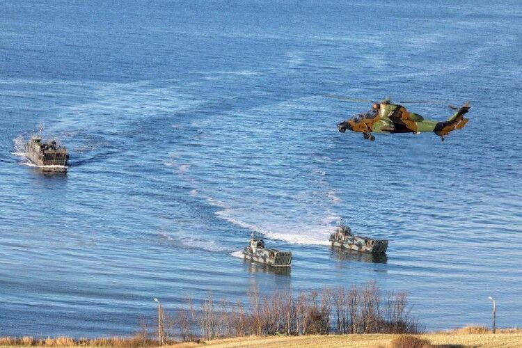 В Балтійському морі стартували міжнародні навчання НАТО