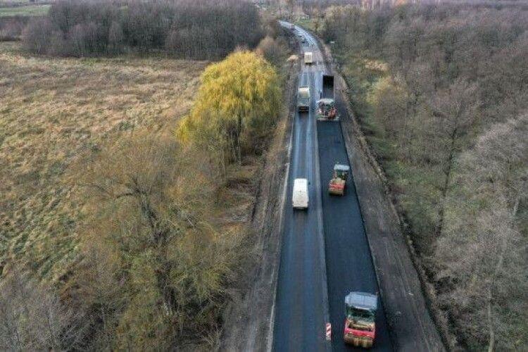 На Волині відремонтували 8 кілометрів дороги між Кременцем та Переспою