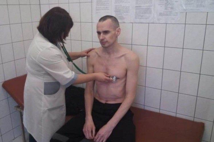 Сенцов у російській тюрмі вже заробив ішемію та аритмію